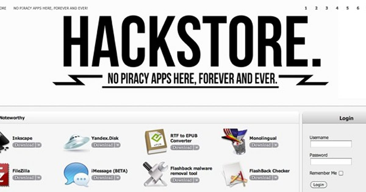 hackstore is like cydia for mac os x  replaces walled