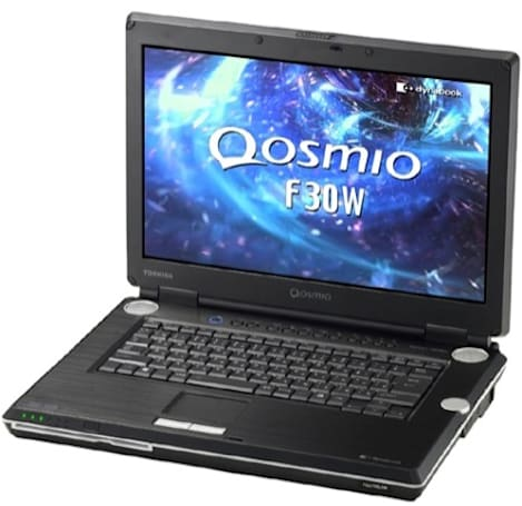 Toshiba's Qosmio F30W refreshed for Vista