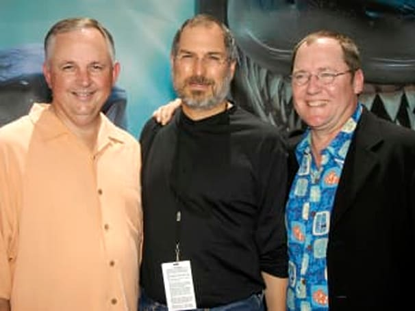 Video: Full presentation of John Lasseter accepting the Disney Legends Award on Steve Jobs' behalf