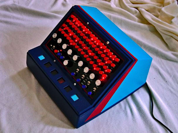 Drumssette DIY drum machine was once a four track, perfect for your Big Audio Dynamite cover band