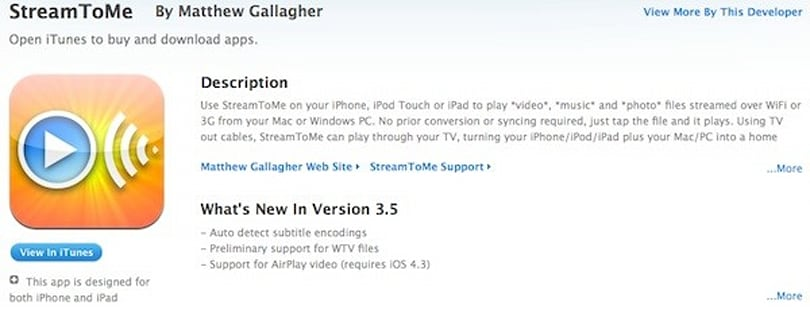 iOS 4.3-ready apps begin turning up in the App Store
