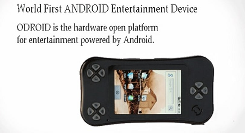 Android-based ODROID handheld gaming concept debuts, hurts our eyes