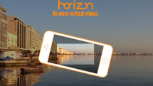 Horizon for iOS records landscape video no matter how you hold your phone