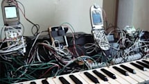 The cellphone piano fulfills the full range of our childhood fantasies