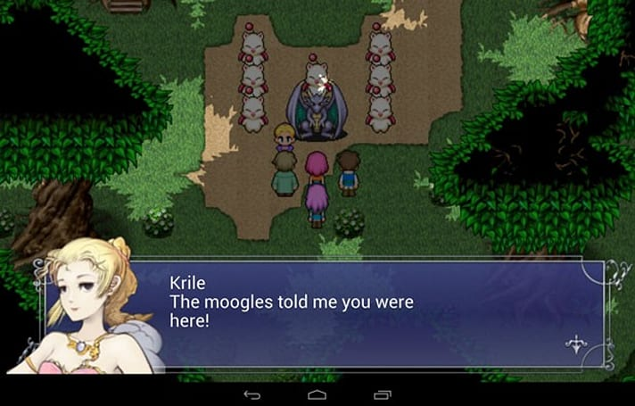 Final Fantasy V rolls to Android, still $16