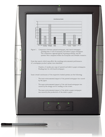 iRex's 1000SW e-reader won't have 3G -- no matter how much we say otherwise