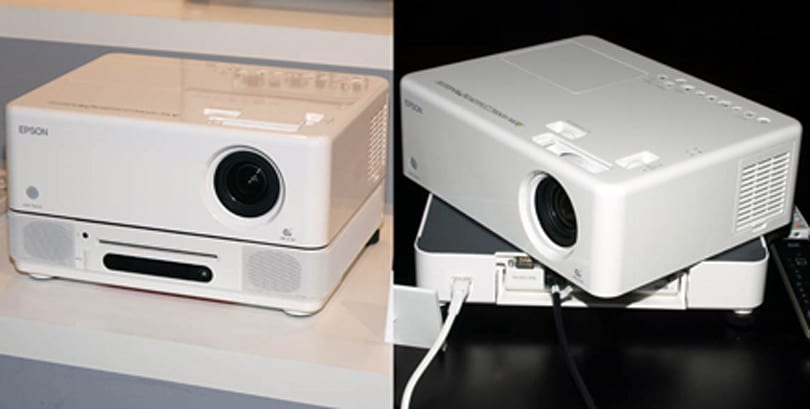 Epson's Dreamio series of 3LCD projectors give us plastic vertigo