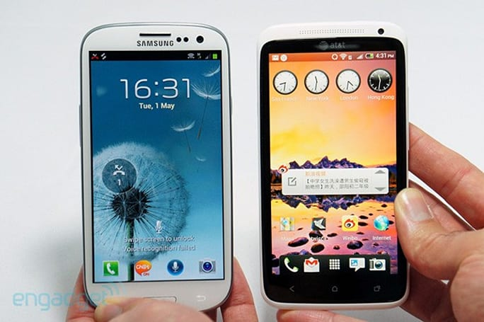 Samsung Galaxy S III vs. rival flagships: iPhone 4S, HTC One X, Lumia 900