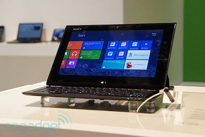 Sony VAIO Duo 11 slider PC hands-on (video)
