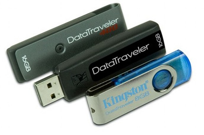 Kingston sprinkles 16GB models into DataTraveler line, launches DT101
