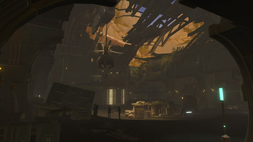 Here are some screens from SWTOR's new planet