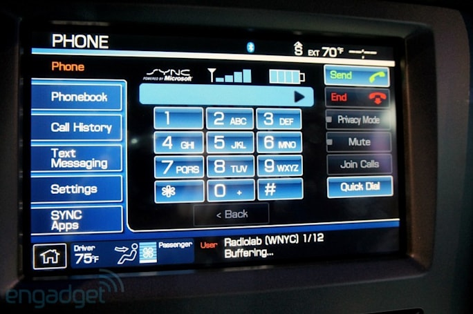 Ford brings SYNC and AppLink to Europe