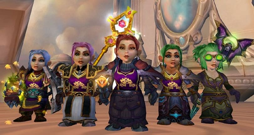 Guild ratchets to level 25 on 100% pure, steam-driven gnome power