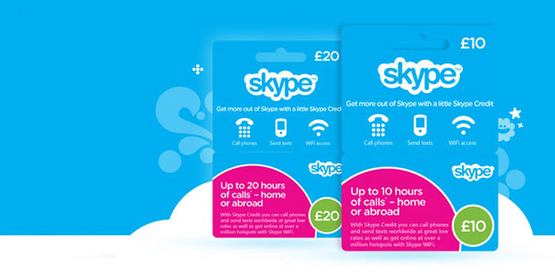 Skype launches prepaid cards in UK: Available in over 1,400 stores, credit starts from £10