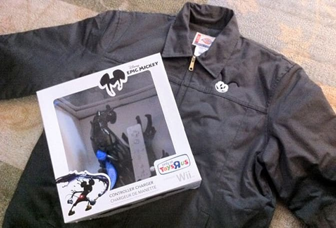 12 Days of Joyswag: Disney Epic Mickey game, jacket, Wiimote charger