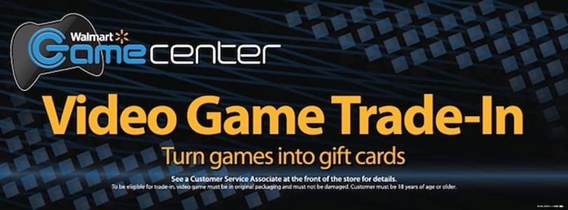 Walmart's used games for gift cards trade-in program opens March 26th (video)