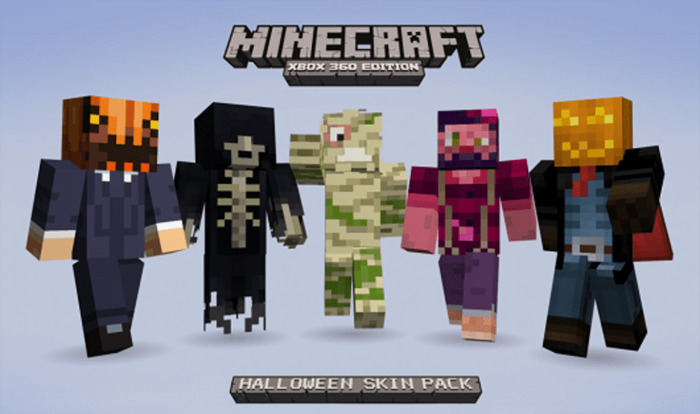 Minecraft Halloween Skin Pack hell-raised $770K for charity