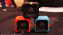 Polaroid's C3 is an action camera in tiny cube form (hands-on)