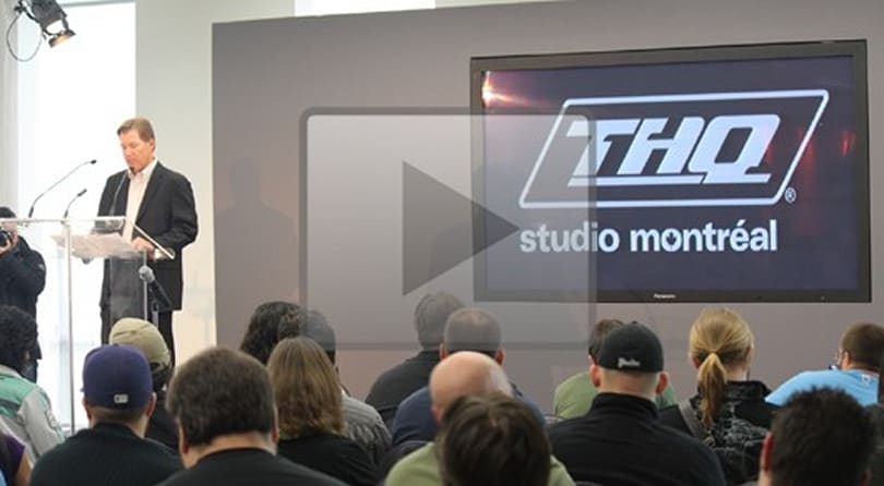Watch: THQ Montreal studio announcement and press conference