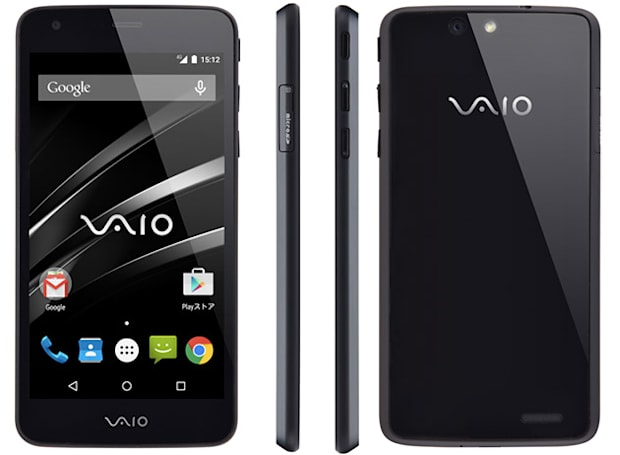 Here is VAIO's first smartphone