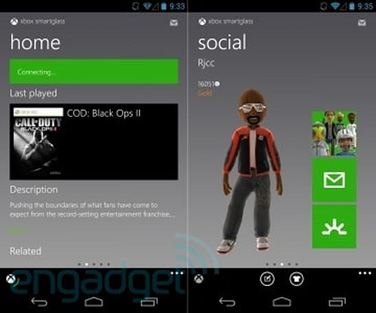 Xbox SmartGlass for Android updated with official 7-inch tablet support