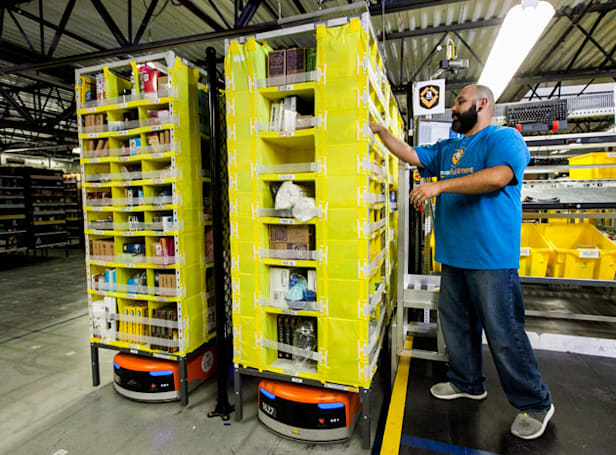 Amazon shows off the robots handling your holiday orders