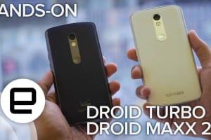 Droid Turbo 2 & Maxx 2 Hands-On