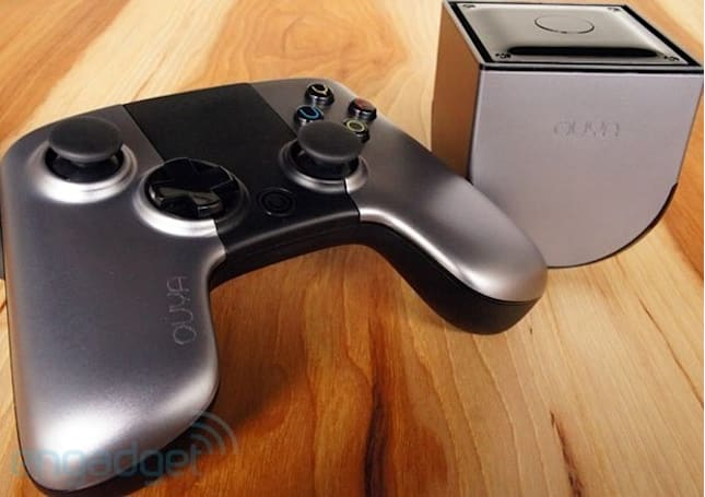 Ouya will begin shipping with a redesigned controller, but you won't know until you open the box