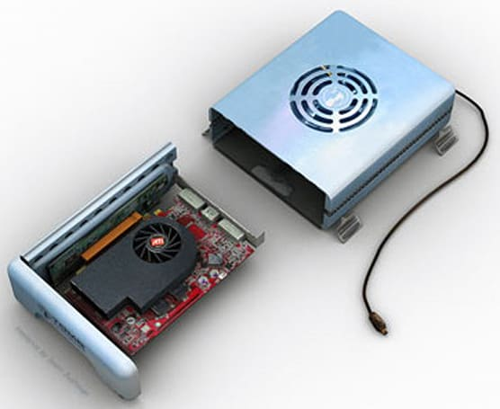 ATI to release power-hungry external video card?