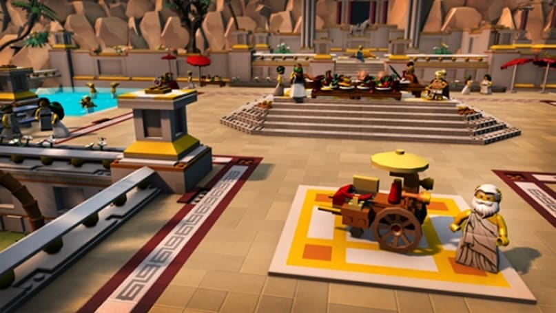 LEGO Minifigures Online rolls out a mythological update