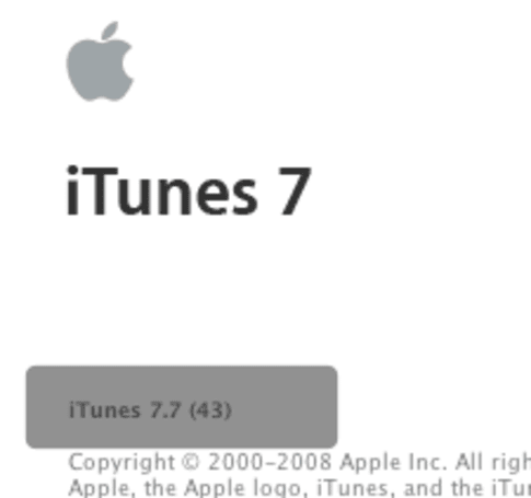 iTunes 7.7 available now
