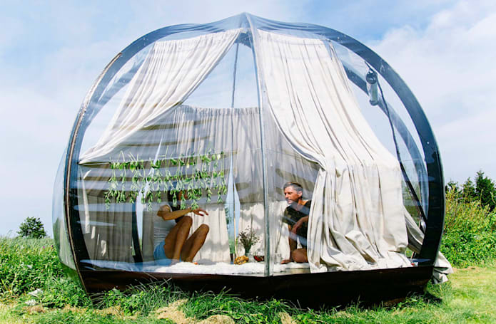 6 tents that take technology off-grid