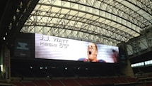 Houston Texans' new HD scoreboard is even wider than the Cowboys'