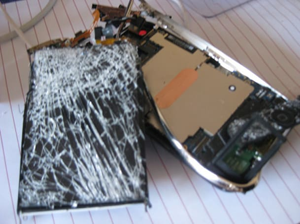 So THAT'S what the inside of an iPhone looks like