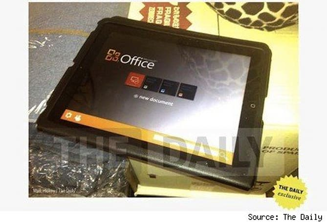 Office for iPad reportedly due in weeks (Update)