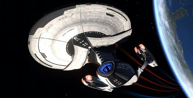 Star Trek Online details four Delta Rising starships