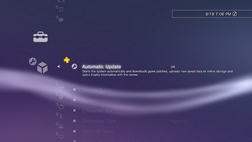 PS3 non-mandatory firmware update 3.73 adds 'stability'