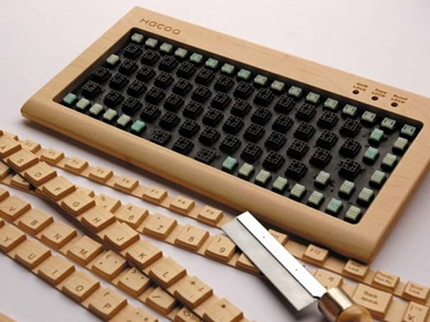 HACOA's $300 DIY keyboard now shipping: saw included