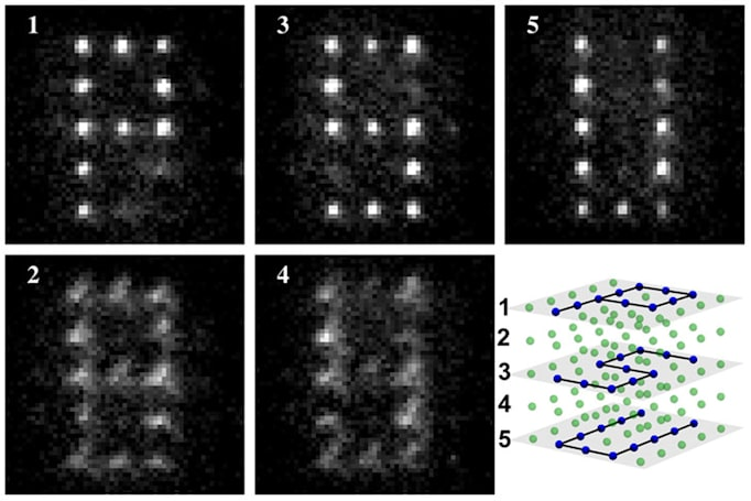 Lasers and microwaves lead to better quantum computing circuits