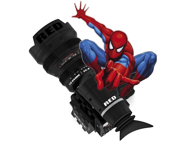 Spider-Man reboot is being shot in RED EPIC 3D, has John Schwartzman all kinds of excited