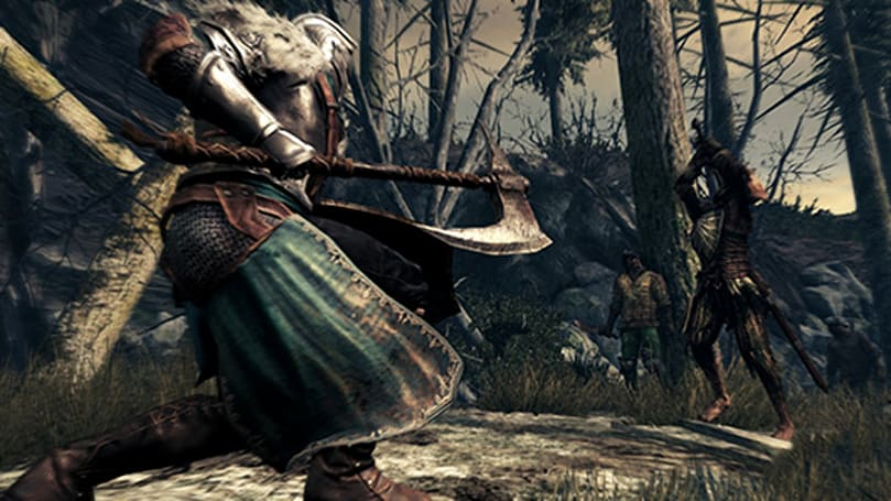 Watch Dark Souls 2 as a radical refugee from the 80s cartoon lineup