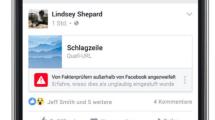 Facebook adressiert