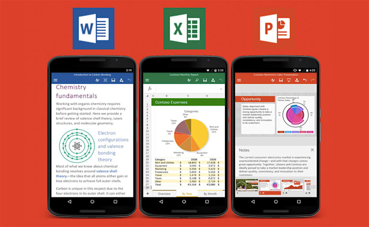 Microsoft's Office apps officially launch for (some) Android phones