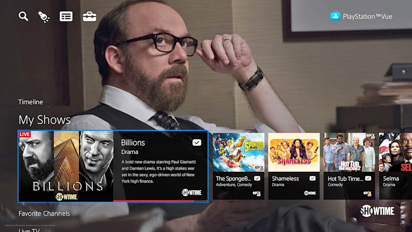 PlayStation Vue is on Android TV now, Mac and PC later