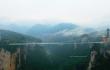 Die höchste Glasbrücke der Welt wird in China gebaut