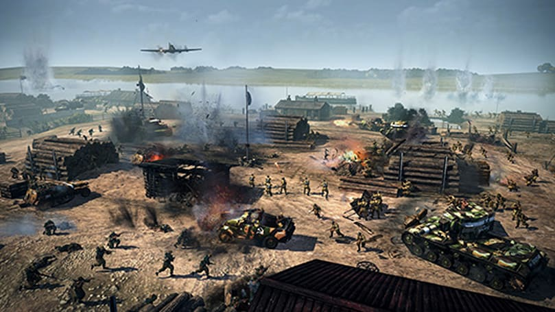 Company of Heroes 2 bombarded by DLC on Two Fronts