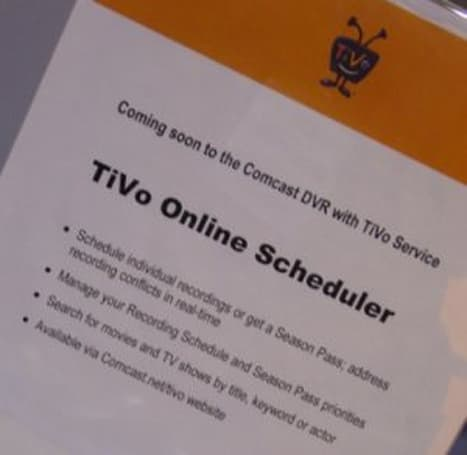 TiVo's Cable Show '09 presence reveals online scheduling, plans to expand distribution
