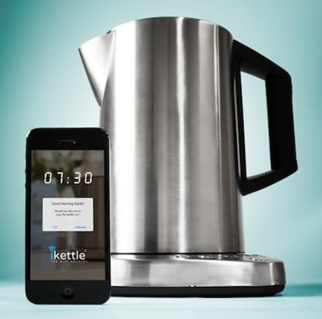The iKettle brings tea time to your iPhone