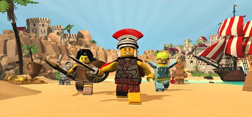 Fully crossplatform LEGO Minifigures Online is coming to the Kindle Fire HDX