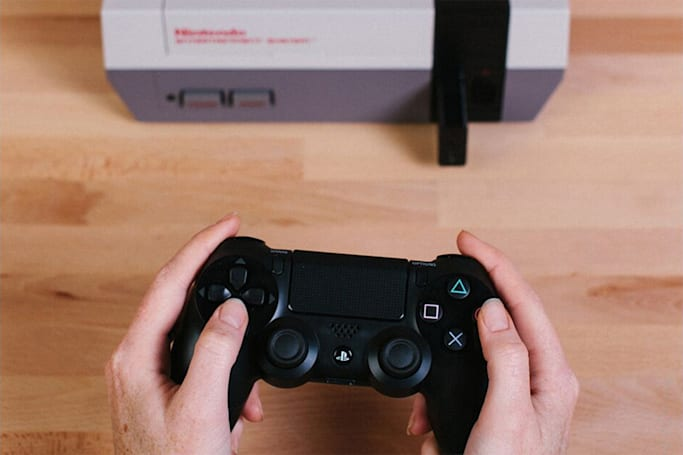 Adapter brings your own wireless gamepads to the NES